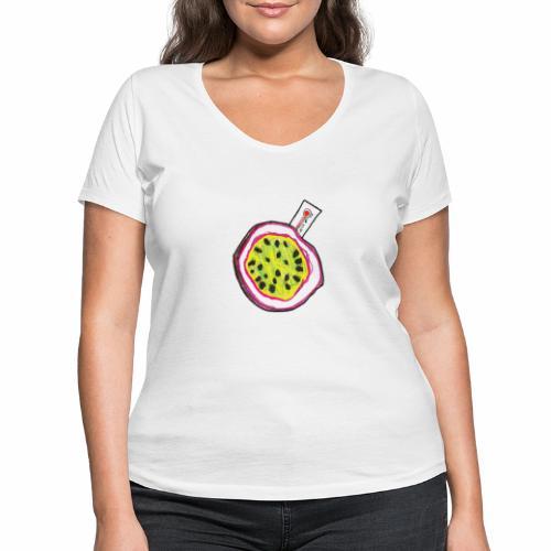 Brewski Passionfeber ™ - Women's Organic V-Neck T-Shirt by Stanley & Stella