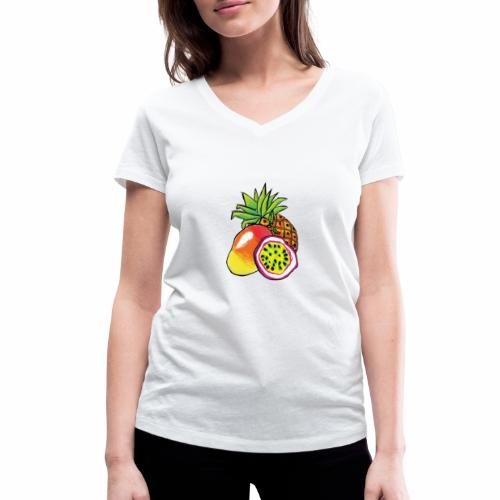 Brewski Pango ™ - Women's Organic V-Neck T-Shirt by Stanley & Stella