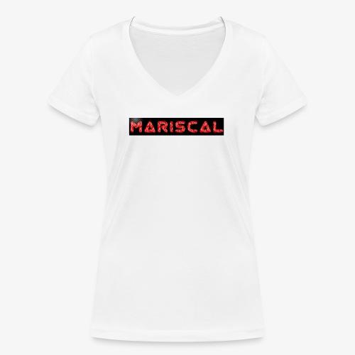 MARISCAL - Camiseta ecológica mujer con cuello de pico de Stanley & Stella