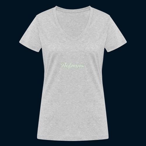 camicia di flofames - T-shirt ecologica da donna con scollo a V di Stanley & Stella