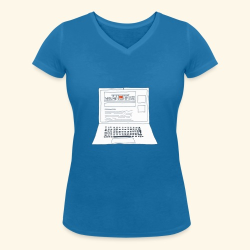 Laptop 20CENT Retail - T-shirt bio col V Stanley & Stella Femme