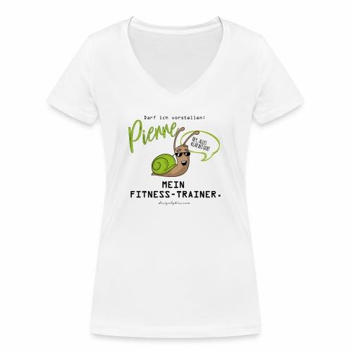 designbykiss (12) - Frauen Bio-T-Shirt mit V-Ausschnitt von Stanley & Stella