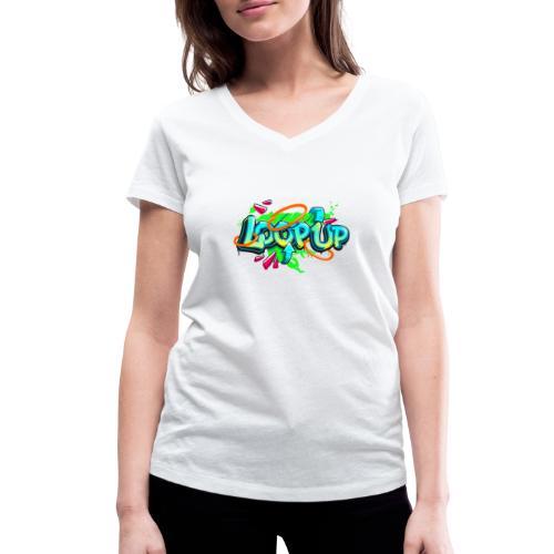Loop up 4 - Frauen Bio-T-Shirt mit V-Ausschnitt von Stanley & Stella