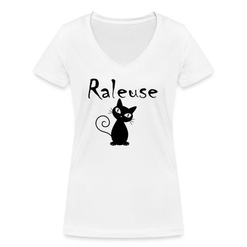 Tshirt Raleuse - T-shirt bio col V Stanley & Stella Femme