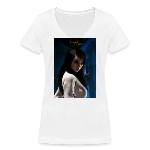 SpookYarn 1 - Frauen Bio-T-Shirt mit V-Ausschnitt von Stanley & Stella