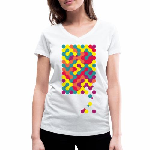 Falling ap-art - Women's Organic V-Neck T-Shirt by Stanley & Stella