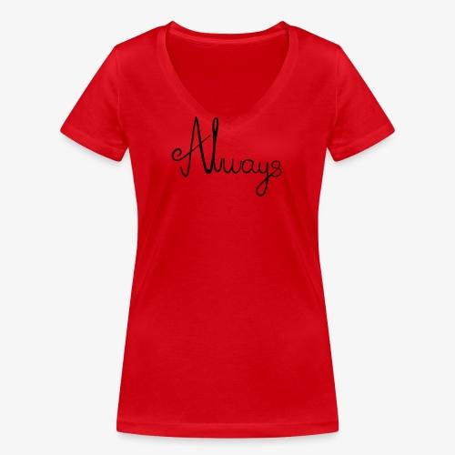 Always - Økologisk Stanley & Stella T-shirt med V-udskæring til damer