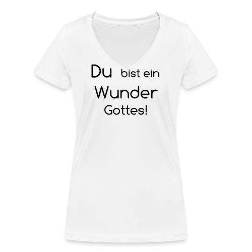 Wunder png - Frauen Bio-T-Shirt mit V-Ausschnitt von Stanley & Stella