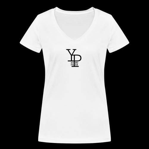 YO_NG PA_DA BLACK DESIGN - Frauen Bio-T-Shirt mit V-Ausschnitt von Stanley & Stella