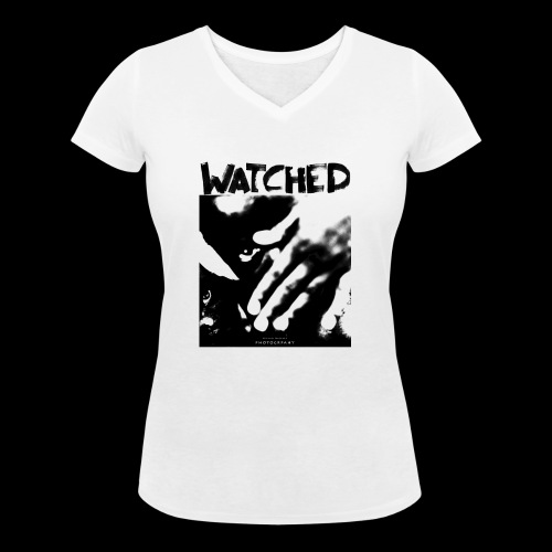 Watched - Frauen Bio-T-Shirt mit V-Ausschnitt von Stanley & Stella