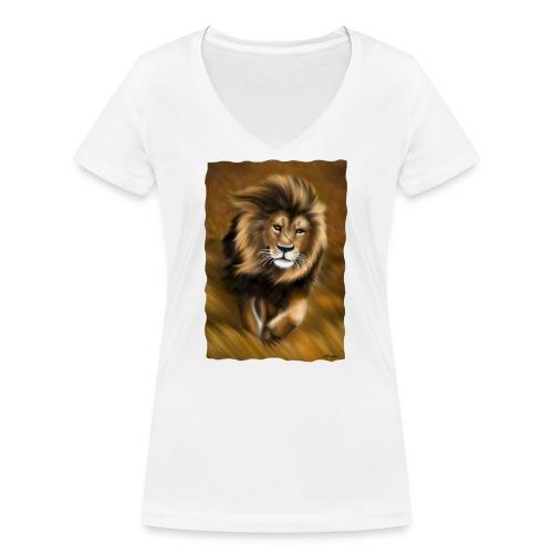 Il vento della savana - T-shirt ecologica da donna con scollo a V di Stanley & Stella