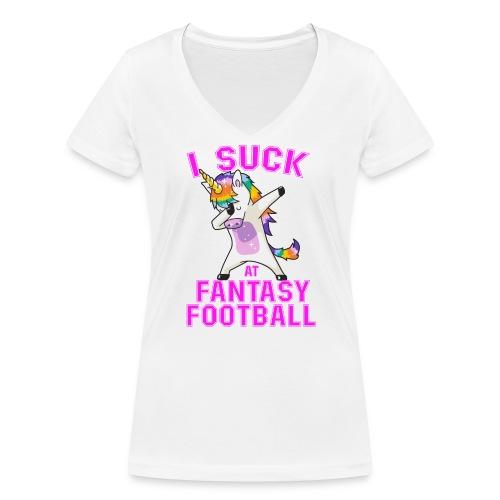FANTASY - Ekologisk T-shirt med V-ringning dam från Stanley & Stella