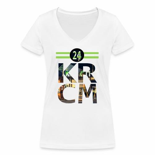 KRCM - Vrouwen bio T-shirt met V-hals van Stanley & Stella