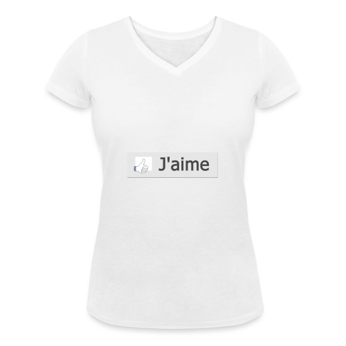 jaime2 - T-shirt bio col V Stanley & Stella Femme