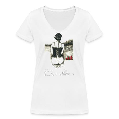 Nalewka Elżbieta Radzikowska - Ekologiczna koszulka damska z dekoltem w serek Stanley & Stella