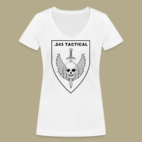 Club Logo - Vrouwen bio T-shirt met V-hals van Stanley & Stella