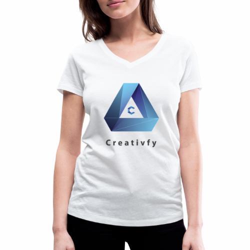 creativfy - Frauen Bio-T-Shirt mit V-Ausschnitt von Stanley & Stella