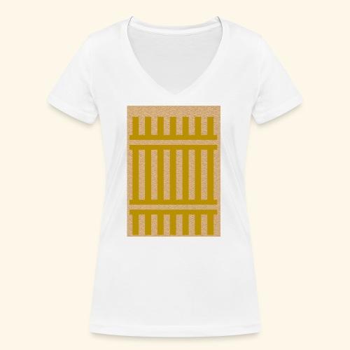 Râ-vie - T-shirt bio col V Stanley & Stella Femme