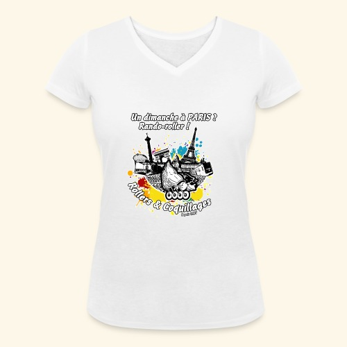 Splash - T-shirt bio col V Stanley & Stella Femme