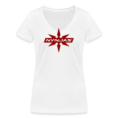 Logo_2000x1680 - T-shirt bio col V Stanley & Stella Femme