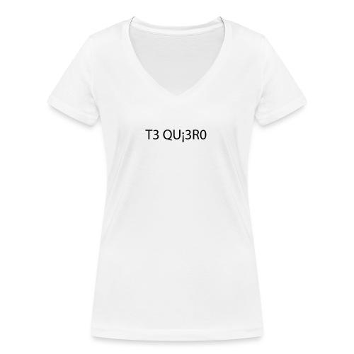 Te Quiero - T-shirt bio col V Stanley & Stella Femme