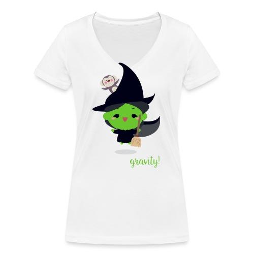 Elphaba 01 - T-shirt ecologica da donna con scollo a V di Stanley & Stella