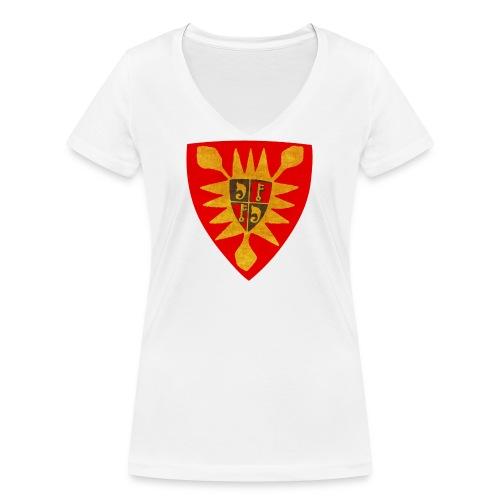 Exten Wappen Tasse - Frauen Bio-T-Shirt mit V-Ausschnitt von Stanley & Stella
