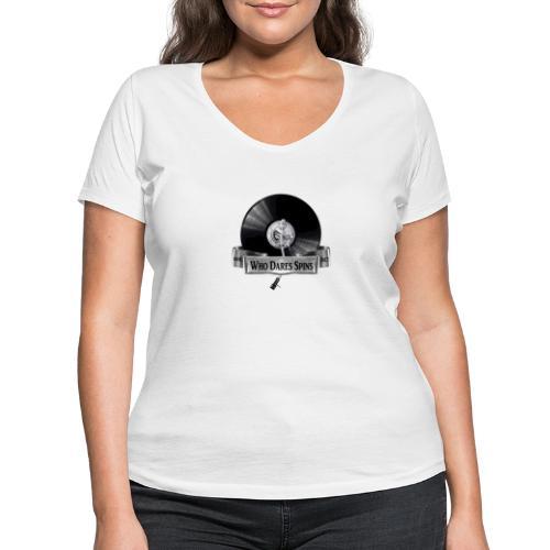 Badge - Women's Organic V-Neck T-Shirt by Stanley & Stella