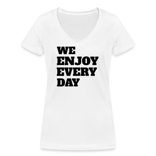 Enjoy - T-shirt bio col V Stanley & Stella Femme