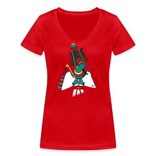 ÄGYPTEN - Osiris - altägyptische Gottheit - Frauen Bio-T-Shirt mit V-Ausschnitt von Stanley & Stella