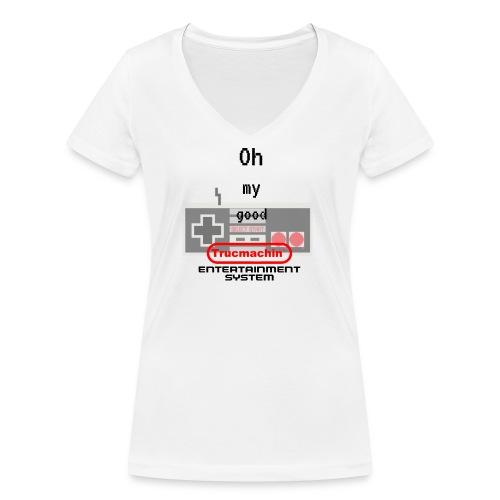 oh my good nes - T-shirt bio col V Stanley & Stella Femme