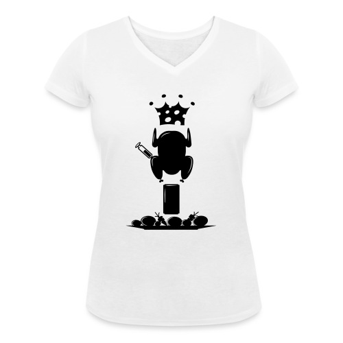 Bella maglietta per le donne 2 - T-shirt ecologica da donna con scollo a V di Stanley & Stella