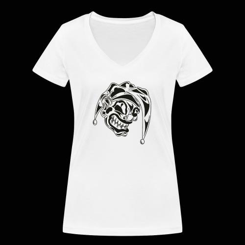 Joker - Frauen Bio-T-Shirt mit V-Ausschnitt von Stanley & Stella