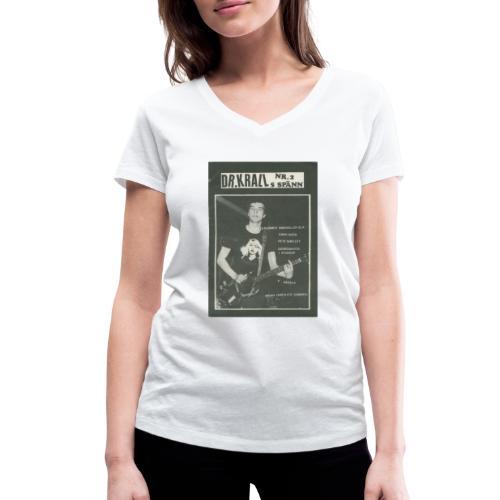 Svart Dr Krall - Ekologisk T-shirt med V-ringning dam från Stanley & Stella