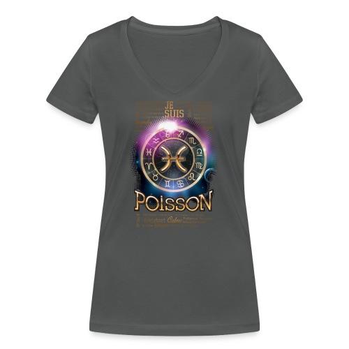 POISSONS - T-shirt bio col V Stanley & Stella Femme