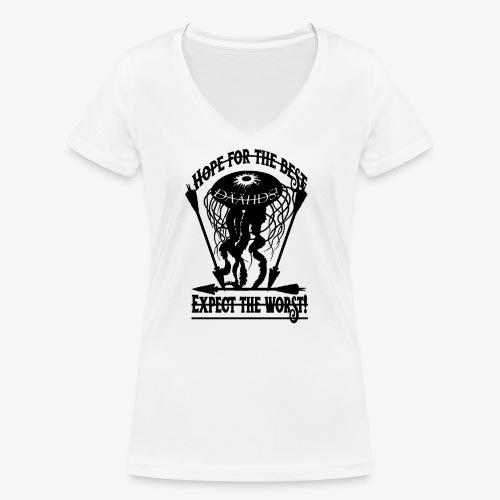Hope the Best - Frauen Bio-T-Shirt mit V-Ausschnitt von Stanley & Stella