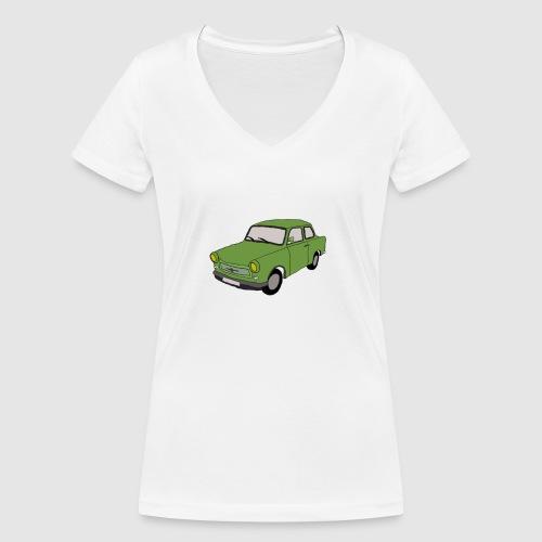 Trabbi - Frauen Bio-T-Shirt mit V-Ausschnitt von Stanley & Stella