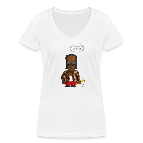 Miles Davis - Frauen Bio-T-Shirt mit V-Ausschnitt von Stanley & Stella