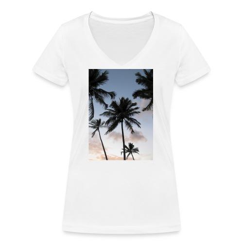 PALMTREES DOMINICAN REP. - Vrouwen bio T-shirt met V-hals van Stanley & Stella