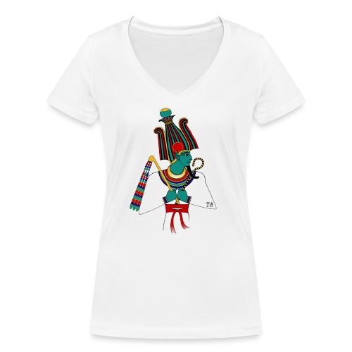 Osiris I altägyptische Gottheit - Frauen Bio-T-Shirt mit V-Ausschnitt von Stanley & Stella