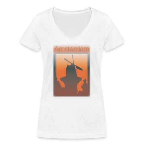 Amsterdam - Women's Organic V-Neck T-Shirt by Stanley & Stella