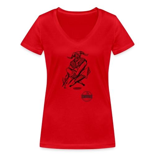 Tattoo Design / tattoo studio / RattatattooZwolle - Vrouwen bio T-shirt met V-hals van Stanley & Stella