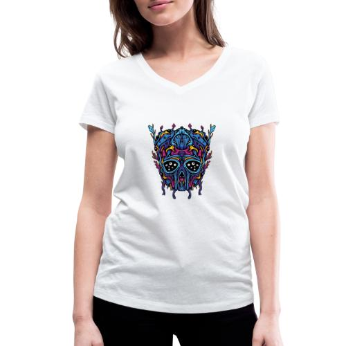 Expanding Visions - Women's Organic V-Neck T-Shirt by Stanley & Stella