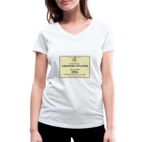 1985 - T-shirt bio col V Stanley & Stella Femme