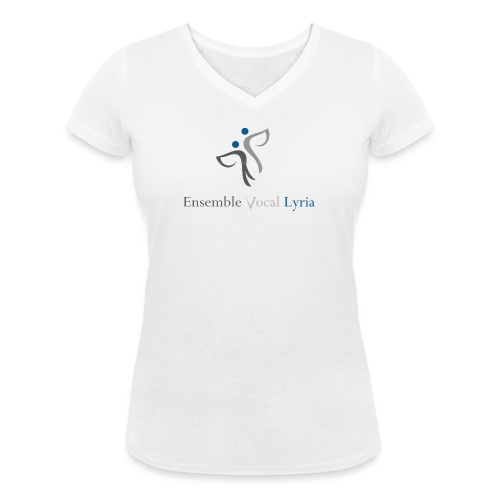 logo EVL - T-shirt bio col V Stanley & Stella Femme