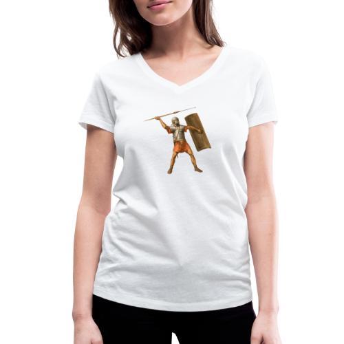 Legionista   Legionary - Ekologiczna koszulka damska z dekoltem w serek Stanley & Stella