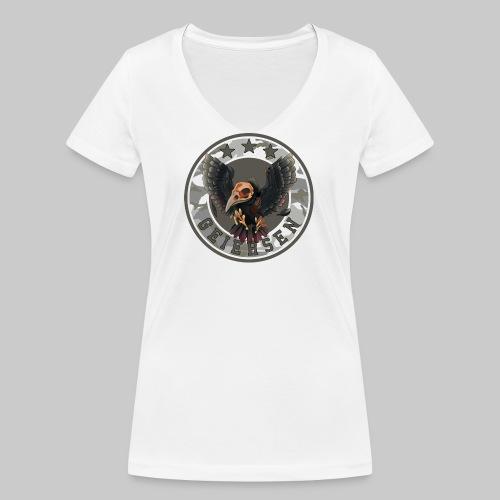logo png - Frauen Bio-T-Shirt mit V-Ausschnitt von Stanley & Stella
