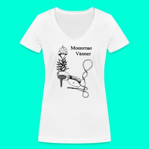 mossvanner - Ekologisk T-shirt med V-ringning dam från Stanley & Stella