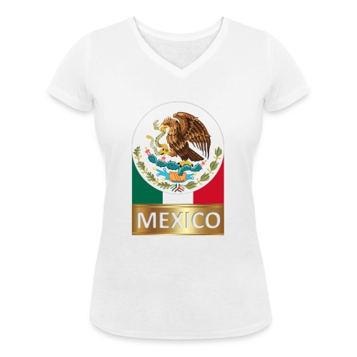 MEXICO1 - Women's Organic V-Neck T-Shirt by Stanley & Stella