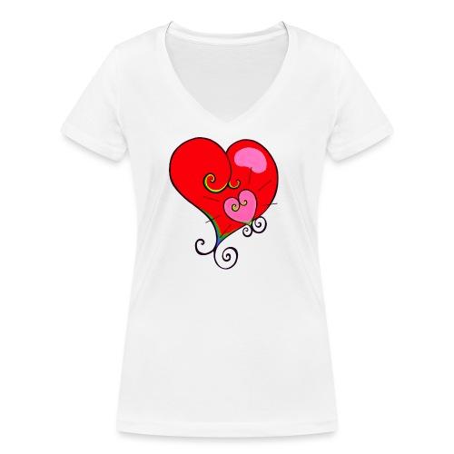 Magic Mother & Magic Child - Women's Organic V-Neck T-Shirt by Stanley & Stella
